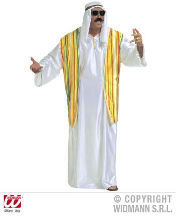 Kostüm Scheich Größe XL - Ölscheich Scheichkostüm