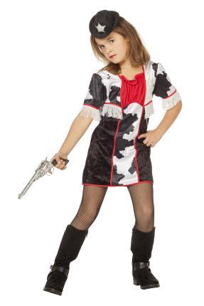 Wilbers cowgirl Mädchen Kostüm Cow Girl Gr. 152 cm  - Western Girl