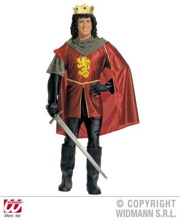 Kostüm königlicher Edelmann Gr. XL  - Mittelalter Ritter