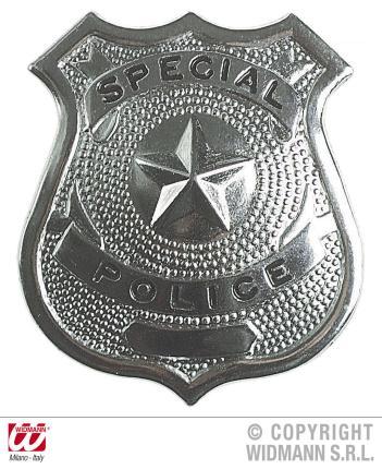 Polizei Abzeichen - Metall  - Police
