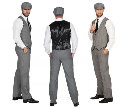 20er Jahre Peaky Blinders Anzug - Gr. 48 - 64 - Herrenanzug 20ties