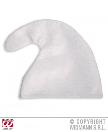 Weiße Zwergenmütze - Mütze für Zwerge