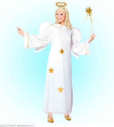Kostüm Engel - Flügel - Heiligenschein - Engelkostüm Dame