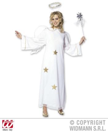Kostüm Engel - Flügel - Heiligenschein- Gr S  - Engelkostüm Dame Gr. S