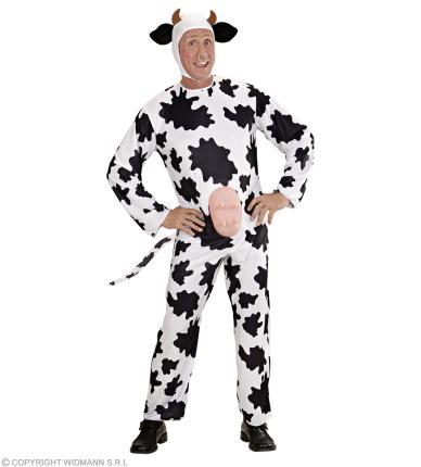 Kostüm Gaia die Kuh - Kuhverkleidung mit Eutern Kuhkostüm