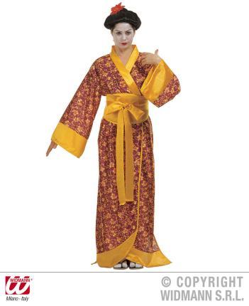 Geisha - Japanerin Kimono Kostüm Kyoto Gr. S 34-36