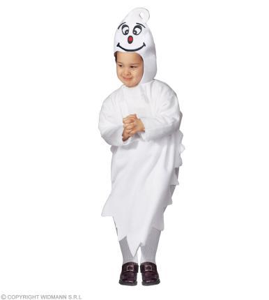 Kleines Gespenst - Geister Kostüm Halloween Kostüm Kinder Gr. 104 cm