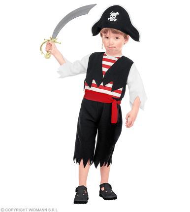 Piratenkostüm für Kinder - Piratenverkleidung  - Piraten Kostüm