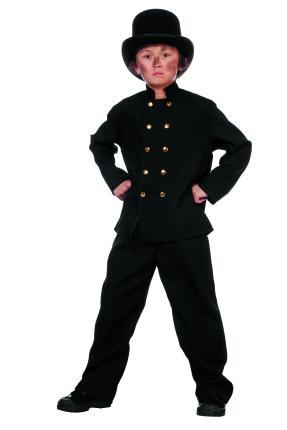 Wilbers Kostüm Schornsteinfeger Junge 128 - 164 cm - Glücksbringer Kaminfeger 152 cm