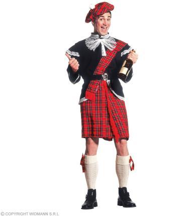 Schottenkostüm - komplettes Kostüm Schotte Highlander Männerrock