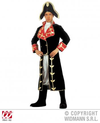 Napoleon Kostüm - Feldherren Verkleidung Gr. L  Feldherr Frankreich L