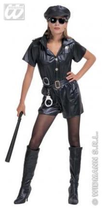 Kostüm Polizistin Officer - Größe S