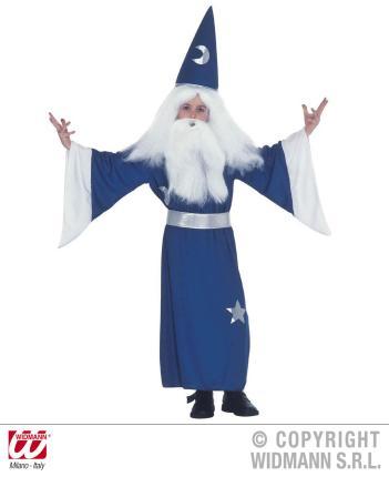Kostüm Zauberer Magier 128 cm