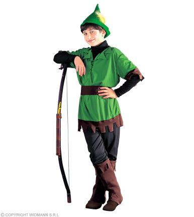 Kostüm König der Diebe - Kinderkostüm Räuber Waldläufer Waldmensch