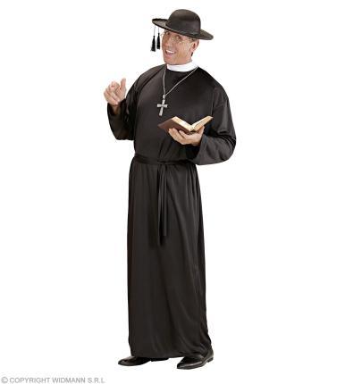 Kostüm Priester Pastor Pfarrer Bischof  - Priestergewand