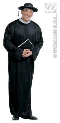 Kostüm Priester Pastor Pfarrer Größe S Bischof  48-50