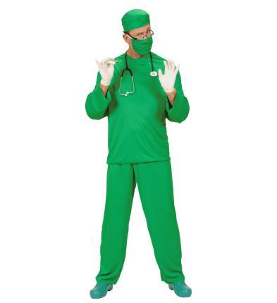 Kostüm Chirurg Arzt Doktor grün Fasching