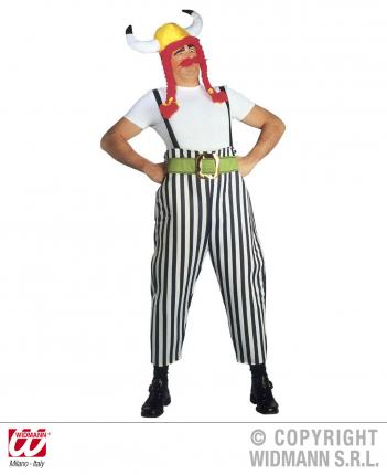 Dicker Gallier Kostüm - Gallier Verkleidung Gr. L  - Römer Karneval