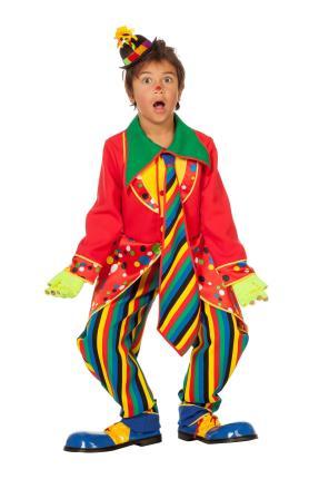 Clown Jungen Kostüm von Wilbers Gr. 116 cm