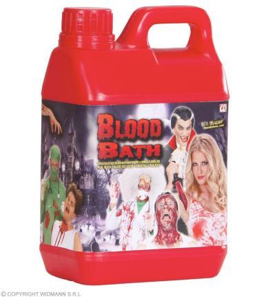 Blutbad Kanister mit Kunstblut 1,89 Liter - Theaterblut Halloween