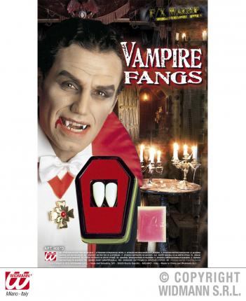 Professionelle Vampir-Zähne - Halloween