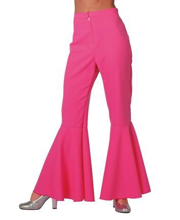 70er 80er Jahre Schlaghose Dame Gr. 36 pink