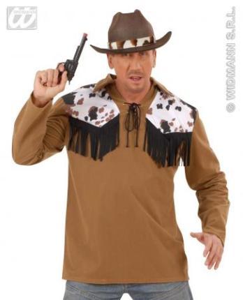 Cow Boy Shirts - Männer Western Weste M/L