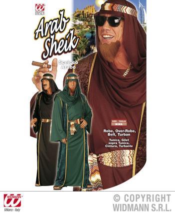 Kostüm Araber Scheich Größe XXL