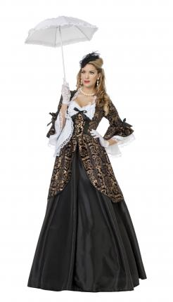 Wilbers Kostüm Marquise Rokoko Dame Gräfin 38 - 48  Renaissance Baronin Gr. 46 - XL