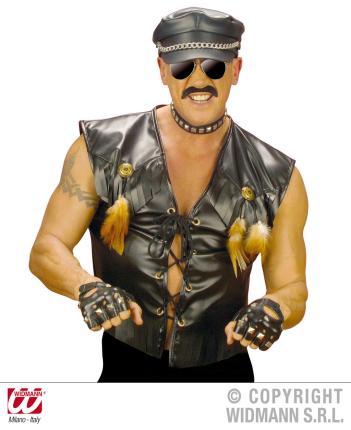 Western Jacke - Biker Rocker Weste Rockerweste M/L 50/52 - Wild West