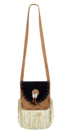 Handtasche für Indianerin - Squaw handbag  - Wild West Indianerintasche