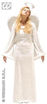 Exklusives Engel Kostüm Gr. L  Engelkostüm - Verkleidung Weihnachtsengel Gr. L