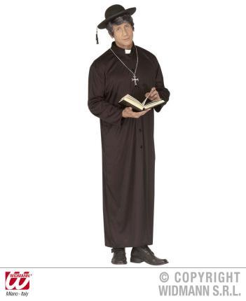 Kostüm unartiger Priester Größe M