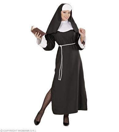 Kostüm Nonne - Nonnenkostüm - Schwester - Ordensfrau