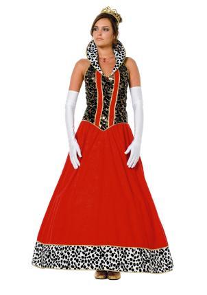 Wilbers langes Kleid Gr. 38 - 56 - Königin Majestät  - Königskleid Edeldame