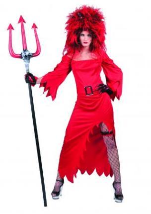 Kostüm Teufelin Lina - Teufelskostüm Hexenkostüm Damenkostüm