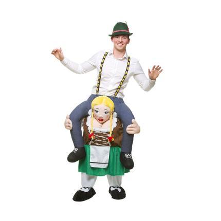 Carry me - Bayrisches Bierkostüm - Bavarian Beer Girl
