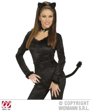 Kostümset Katze - Katzenset schwarz