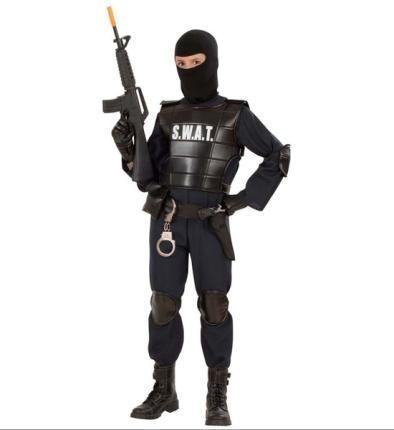 S. W. A. T. Undercover Agent SWAT Polizist Gr. 158 cm - Spezial Officer