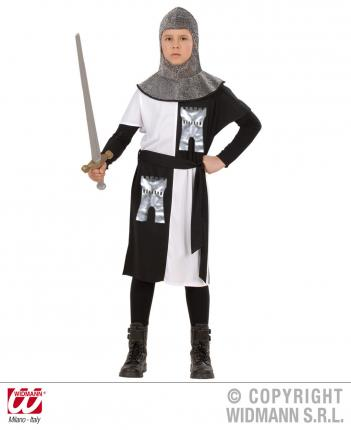 Kreuzritter Kostüm für Kinder 5 - 13 Jahre  Ritter