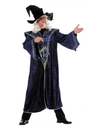 Wilbers Kostüm Zauberer blaue Sterne Gr. 60