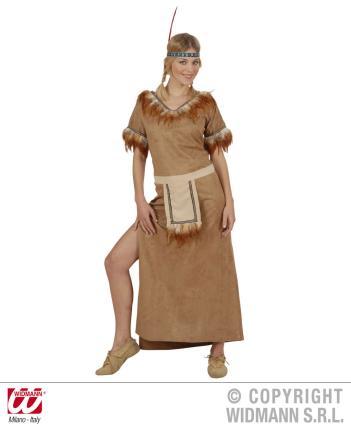 Indianerfrau Squaw Kostüm Gr.XL