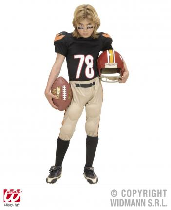 Kostüm American Football Star 140 cm