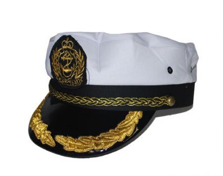 Schiff - Kapitäns - Mütze  Kapitätnsmütze Kapitän