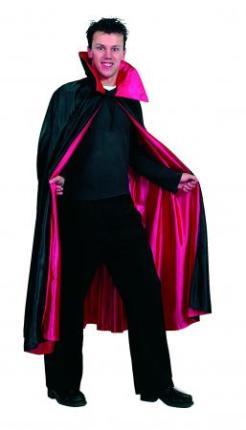 Dracula Umhang - schwarz / rot