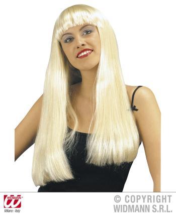 Blonde Perücke - Moderne Blondi-Perücke