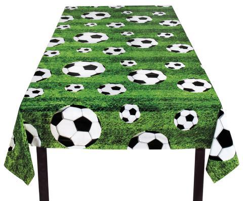 Fußball Tischdecke 120 x 180 cm Fußballparty Deko - Fußballfest