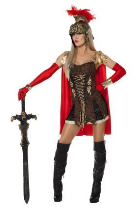 Wilbers Damen Kostüm Spartacus Römerin Gr. 42  Römerinkostüm