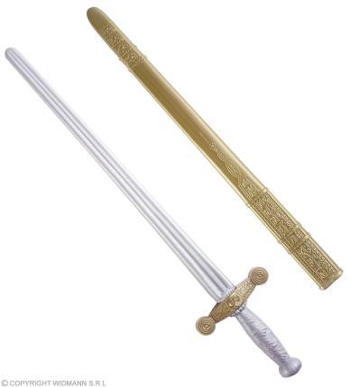 Ritterschwert mit Schaft 75 cm