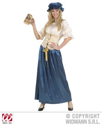 Kostüm Renaissance Taverne Gr. XL - Kellnerin Mittelalter Oktoberfest